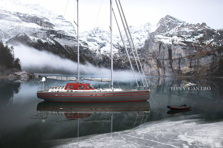 New sailing yacht Pelagic 77