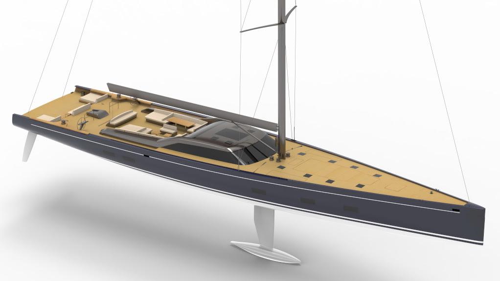 Royal Huisman Unveils Project 405