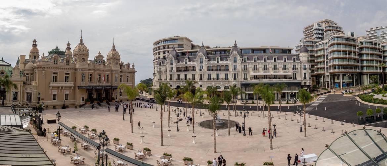Inauguration Place du Casino