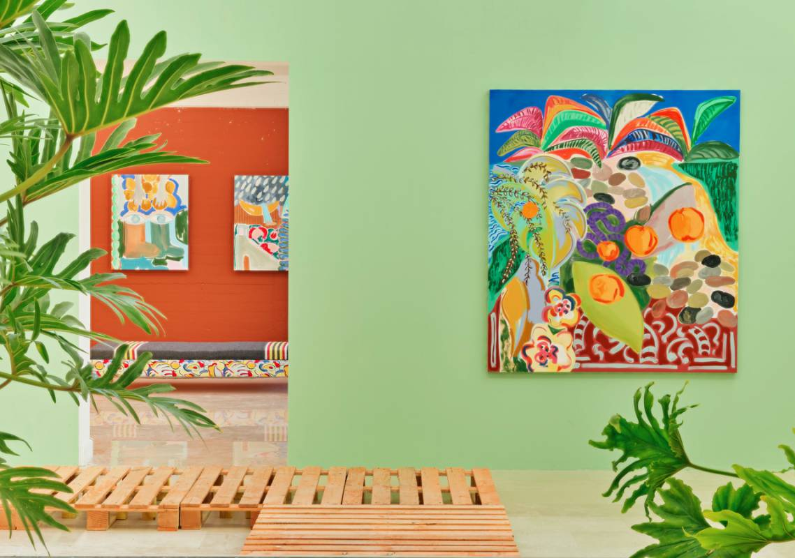 Faraway Colours by Zora Mann and Sol Calero at Villa Arson in Nice