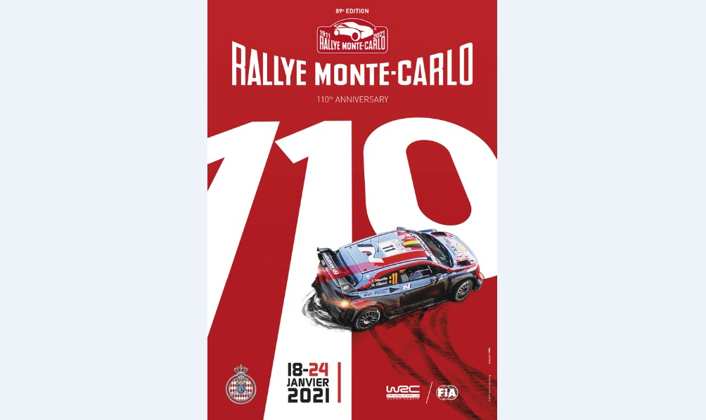 The 89th edition of the Monte-Carlo Rally