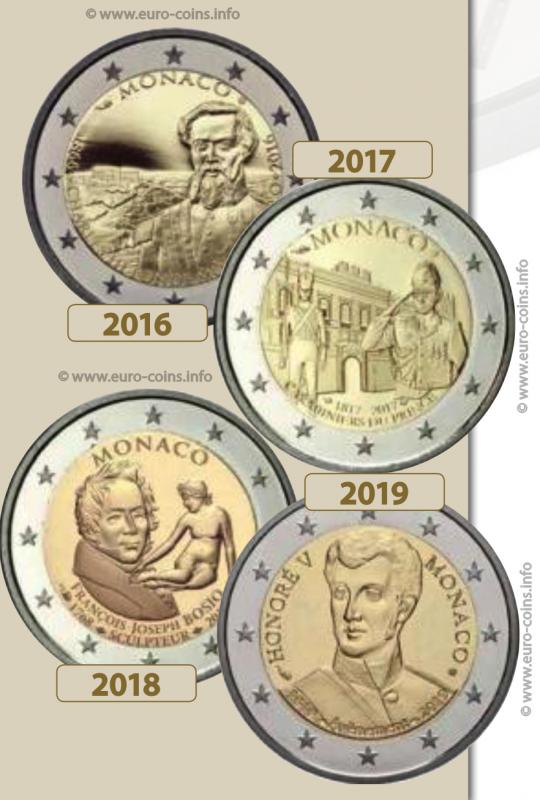 Rare Commemorative 2 Euro Coins