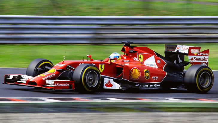 The Hungarian Grand Prix: Ferrari put up a fight