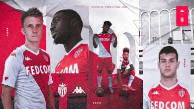Photo of New AS Monaco home jersey unveiled