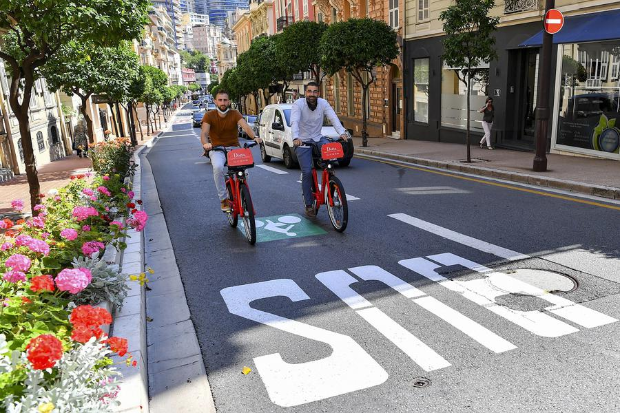 New cycle path in Monaco to discover