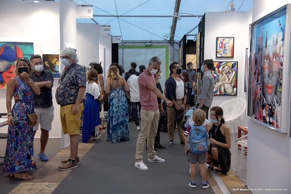 The first International Exhibition of Contemporary Art, art3f