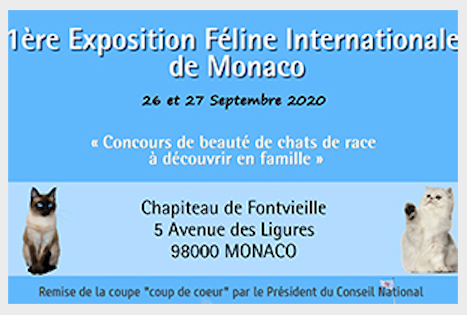 Inaugural Monaco International Cat Show