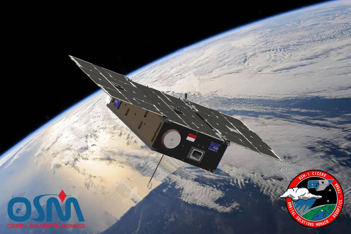 The First Satellite Made In Monaco Has Been Launched