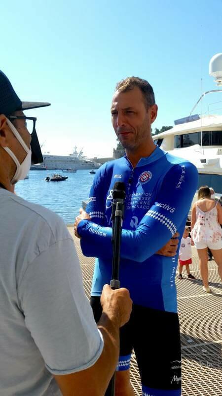 Calvi-Monaco Water Bike Challenge