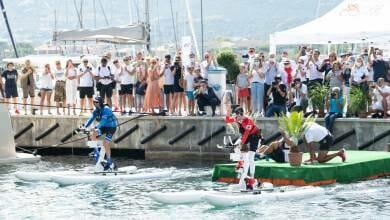 Photo of Calvi-Monaco Water Bike Challenge: Princess Charlene and 'Serenity' team marked history