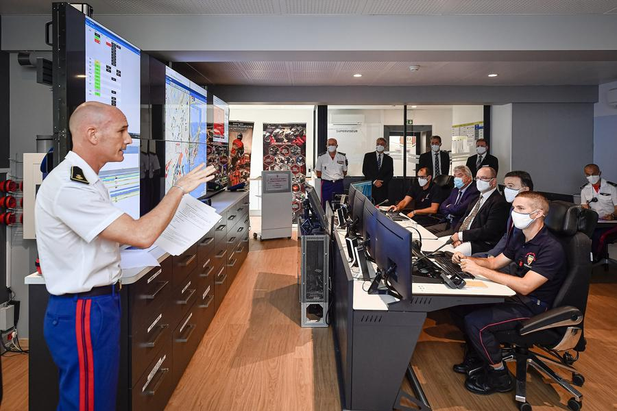 Monaco Fire and Emergency Service Has a New Technical Tool
