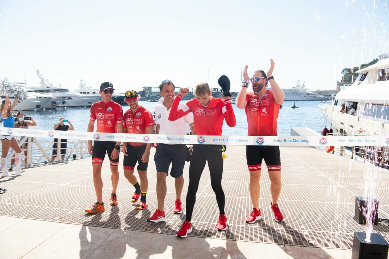 The Crossing: Calvi – Monaco Water Bike Challenge