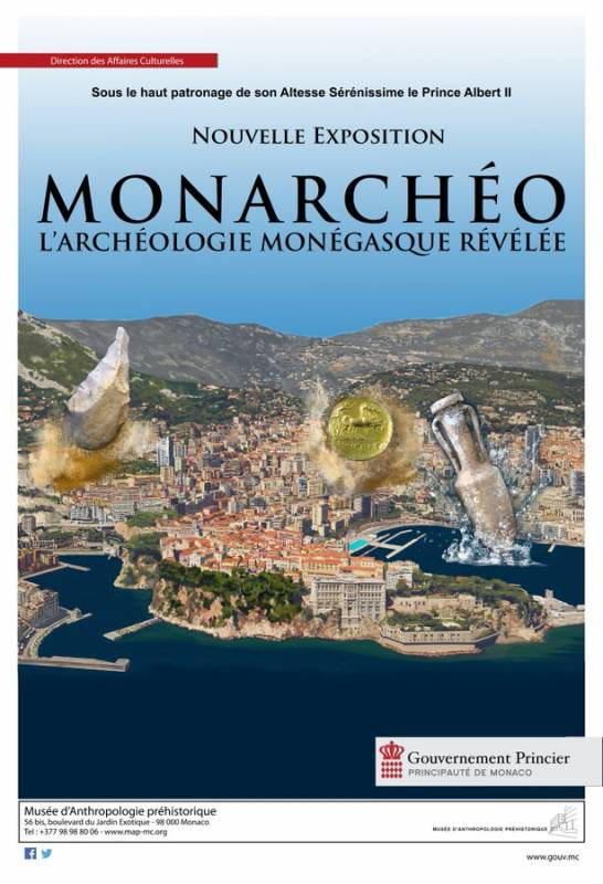 "Permanent exhibition: ""Monarchéo, Monegasque Archaeology Revealed"""