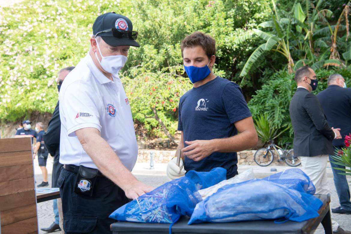 The Prince Albert II of Monaco Foundation and the Princess Charlene of Monaco Foundation unite for the preservation of the marine environment