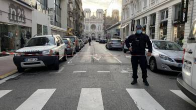 Photo of Tragic Terrorist Knife Attack Kills Three at the Notre Dame Basilica in Nice