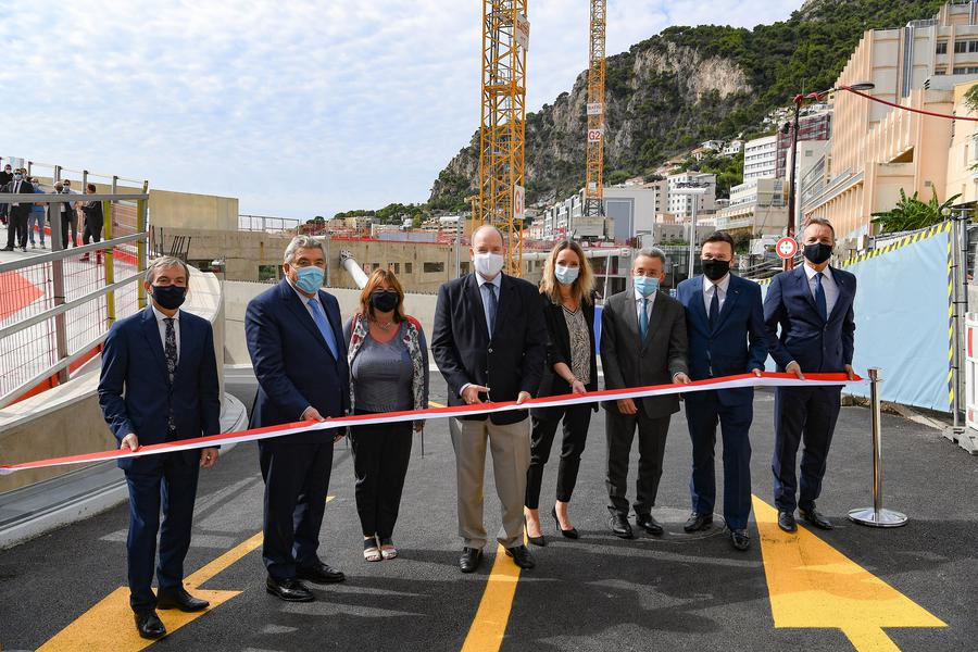 Inauguration of New Road and Pedestrian Infrastructure at the Entrance to the CHPG