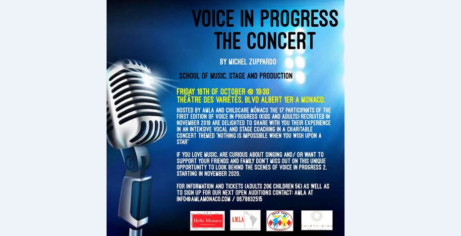 """Voice in progress"" music project"