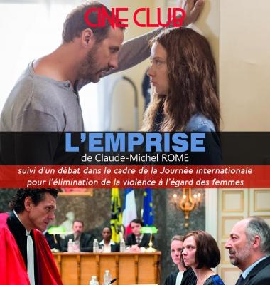 """Cine-Club: """"L'Emprise"""" (""""Control"""") by Claude-Michel Rome (2014)"""