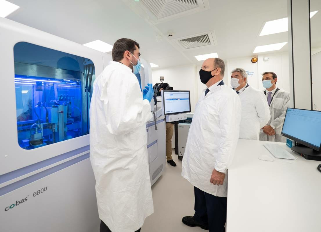 Monaco Scientific Centre: P3 Laboratory makes the Principality a leading-head COVID-19 diagnostic hub