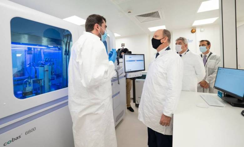New equipment that allows the Principality to be more efficient in the fight against coronavirus