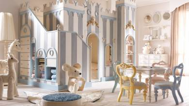 Photo of Sabrina Monte-Carlo Kids featuring dream bedrooms for your kids