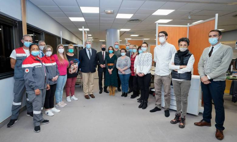 Exclusive visit to Covid-19 Home Patient Monitoring Centre