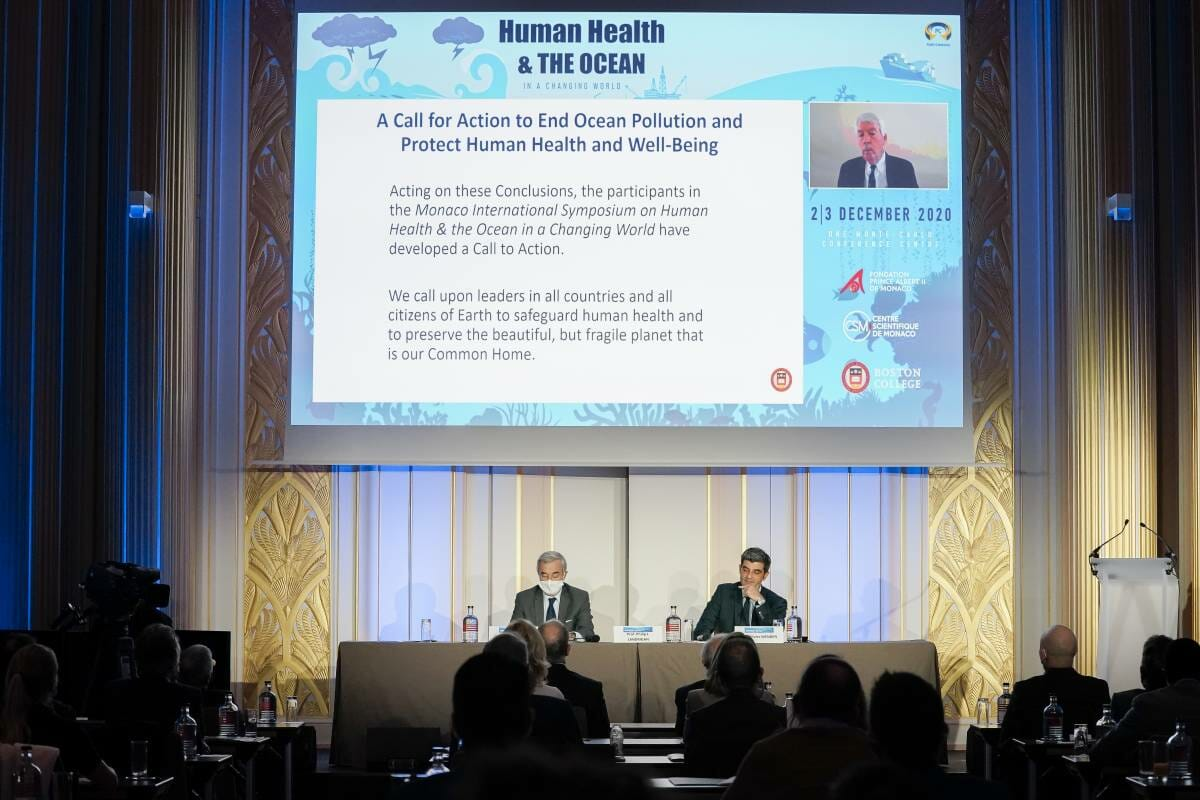 The 1st Symposium on Human Health and the Ocean