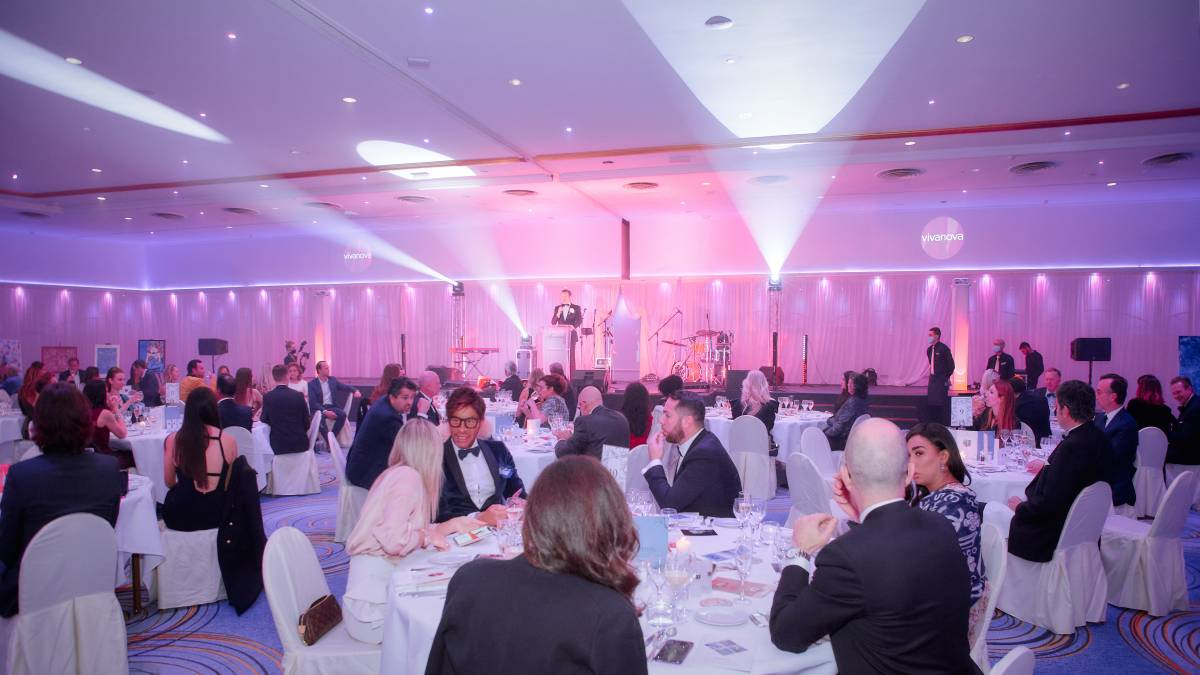 The Vivanova event at the Fairmont - a Charity Gala