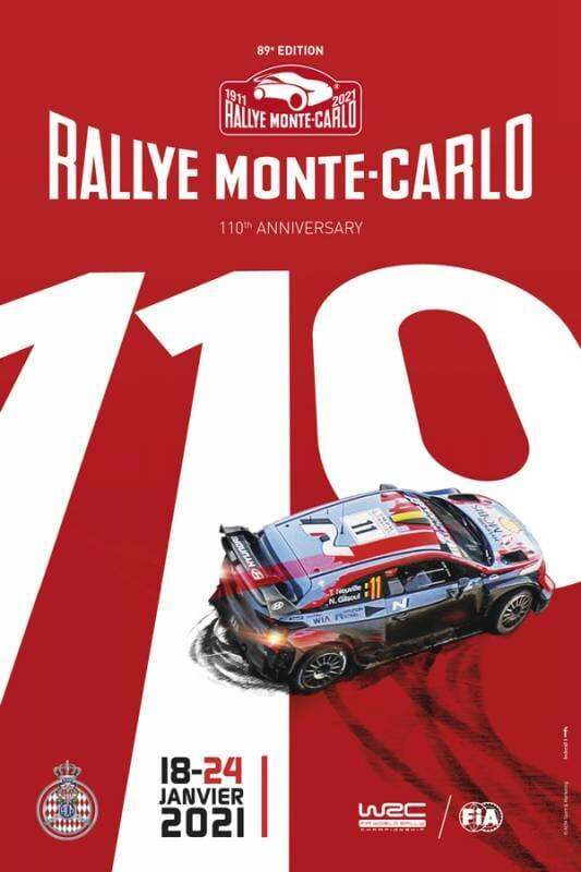 89thMonte-Carlo Rally