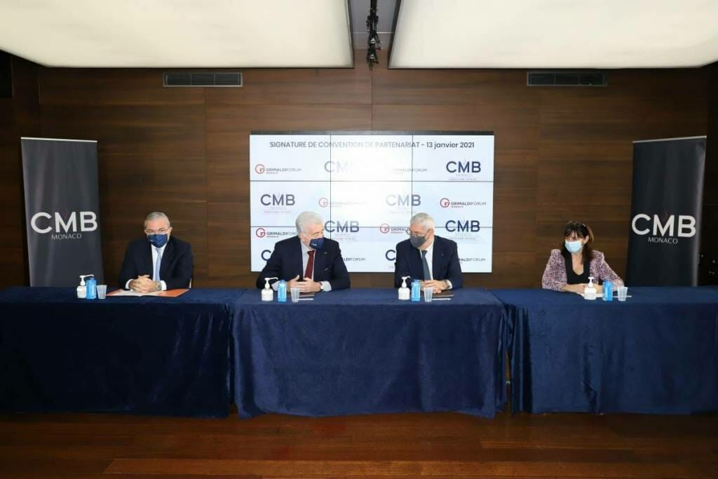 The Grimaldi Forum and CMB Monaco renewed their commitment