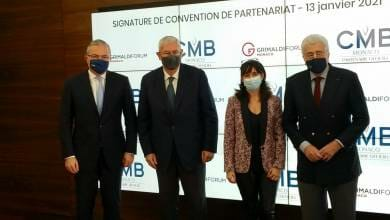 Photo of The Grimaldi Forum and CMB Monaco renewed their commitment to make Culture survive
