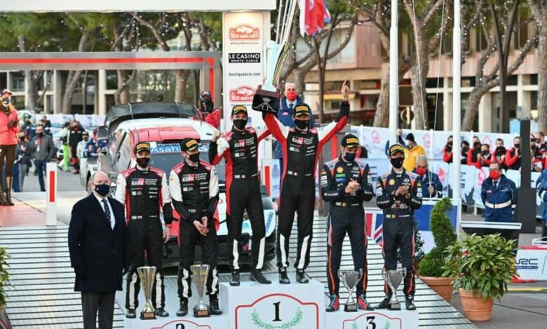 The 89th Rally Monte-Carlo Awards Ceremony