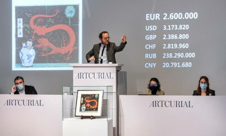 Artcurial Auctions a Comic Book for Millions. The World Record is Smashed!