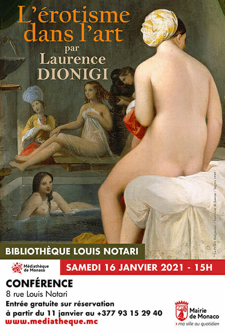 "Conference ""Eroticism in art"" by Laurence Dionigi"