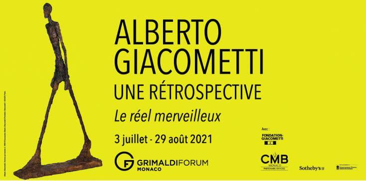 """Exhibition """"Alberto Giacometti. A retrospective. The real marvelous """""""