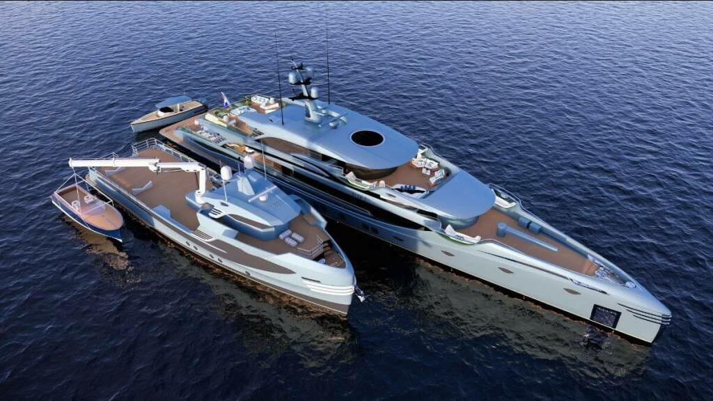 The worlds longest motoryacht below 500GT