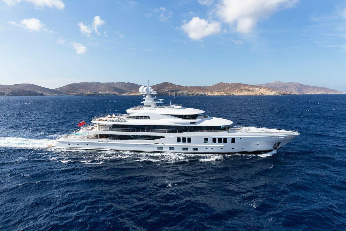 74-metre Amels superyacht