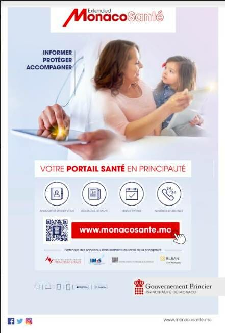 Monaco's New Health Portal: Stay connected to your Health