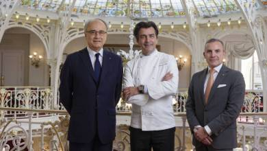 Photo of Yannick Alléno at the Hôtel Hermitage: A Celebration of Twin Guiding Lights in the Principality