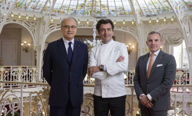 Yannick Alléno at the Hôtel Hermitage, a bold new project for the SBM Group