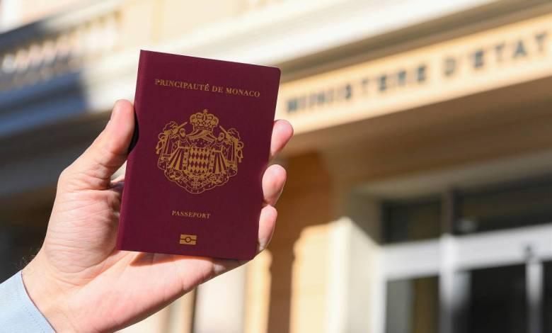 New Modern Monegasque Passports