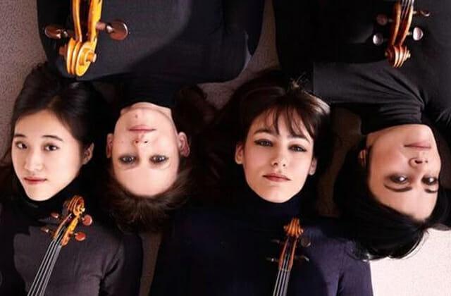 chamber music concert by the Jaël Quartet