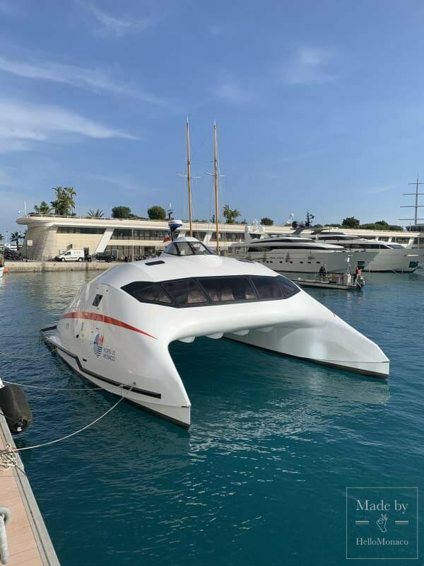 Grand launch of the Monaco One mini-catamaran in the Principality