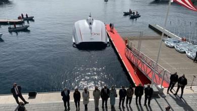 Photo of Grand launch of the Monaco One mini-catamaran in the Principality