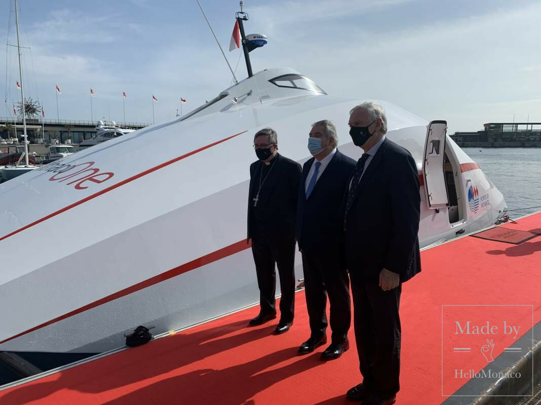 Grand launch of the Monaco One mini-catamaran in the Principality