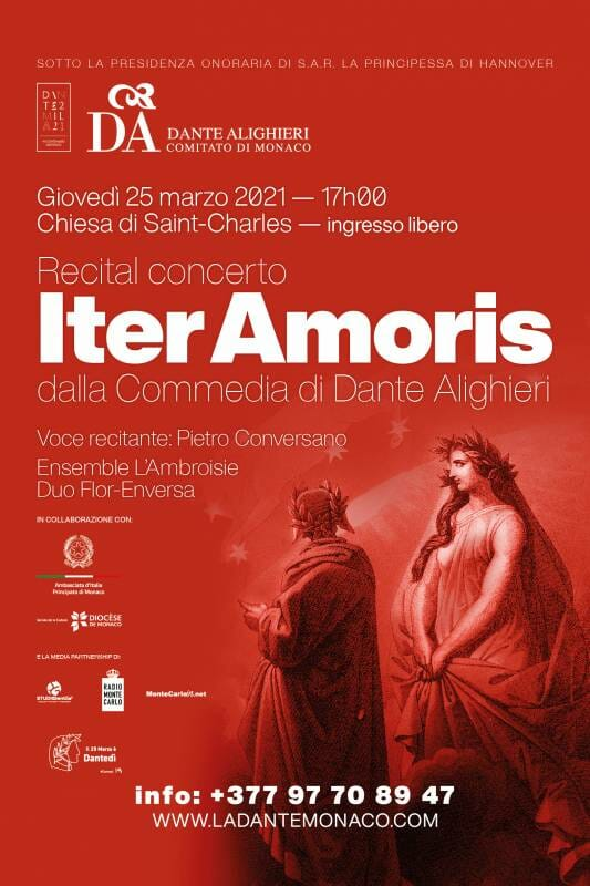 Concert dedicated to the 700th anniversary of the death of Dante Alighieri