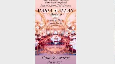 Photo of The Maria Callas Monaco Gala & Awards 2021 Grand Event is coming closer
