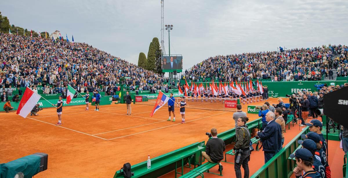 The final match between Fabio Fognini