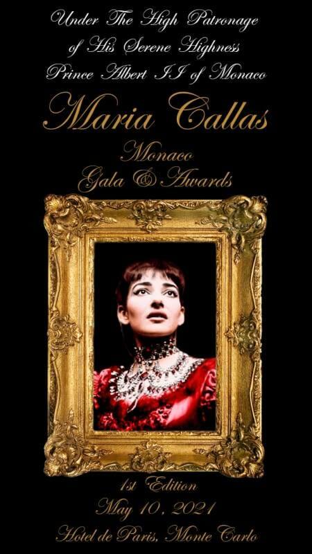 Maria Callas Monaco Gala & Awards 2021
