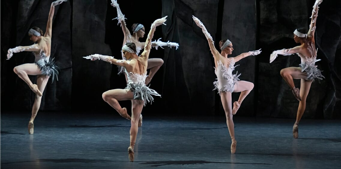 "Choreographical performances ""LAC"" by Les Ballets de Monte-Carlo"
